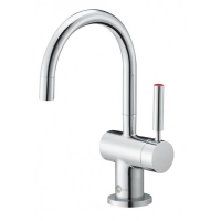 Insinkerator Hot & Cold Tap Push Lock Single-Lever Chrome Kit