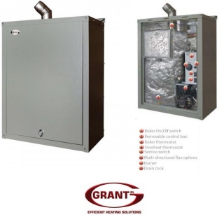 Grant Vortex Wall-Hung Condensing Outdoor Boilers