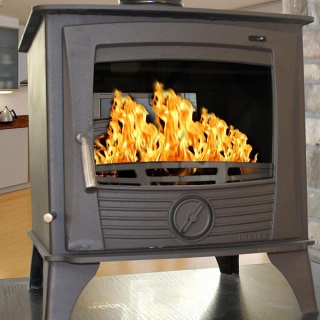 Henley Druid Double-Sided Roomheater Stoves