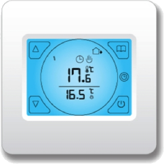Ezewarm Touchscreen Programmable Thermostat